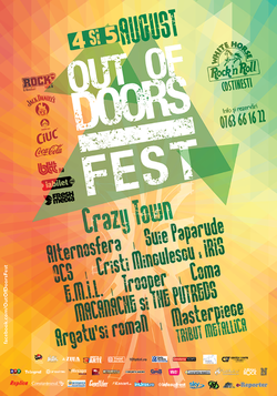 Out Of Doors Fest 2017: 4-5 august la Costinesti