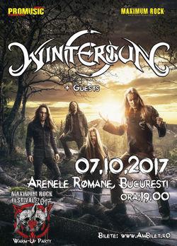 Wintersun concerteaza pe 7 octombrie la Arenele Romane