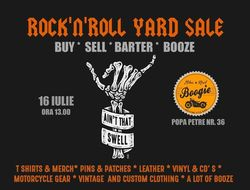 Rock'n'Roll Yard Sale in Boogie
