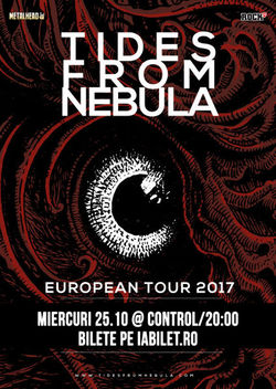 Concert Tides From Nebula pe 25 octombrie in Club Control