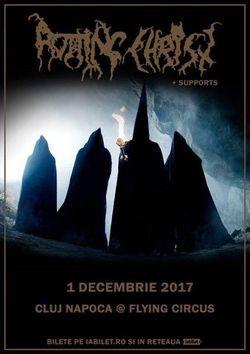 Rotting Christ live la Cluj Napoca pe 1 decembrie