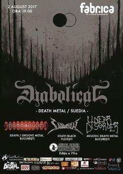 Concert Diabolical la Bucuresti