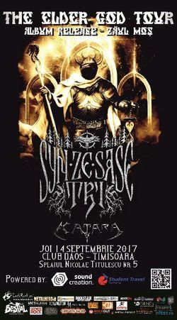 Syn Ze Sase Tri lanseaza al patrulea album pe 14 septembrie, in Timisoara