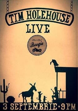 Tim Holehouse live at Boogie pe 3 Septembrie