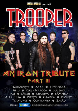 Metalhead prezinta 'Trooper - An Iron Tribute  Part III'