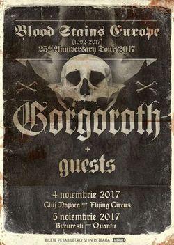 Gorgoroth in premiera la Bucuresti pe 5 Noiembrie in Quantic