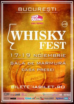 Whisky Fest revine cu editia numarul doi, la Casa Presei din Bucuresti