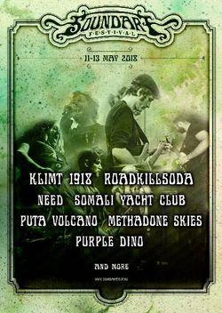 Puta Volcano, Purple Dino si Roadkillsoda la SoundArt Festival 2018