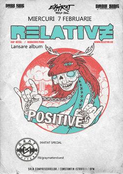 Relative isi lanseaza albumul alaturi de Gray Matters in Expirat pe 7 Februarie