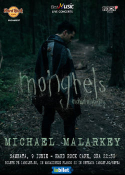 Michael Malarkey (The Vampire Diaries) in concert la Bucuresti pe 9 iunie