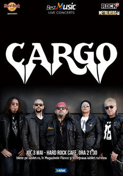 Concert Crago pe 3 mai la Hard Rock Cafe