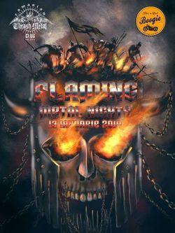 Flaming Metal Nights in Boogie pe 13 Ianuarie