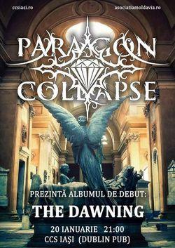 Paragon Collapse lanseaza albumul de debut pe 20 Ianuarie in Iasi