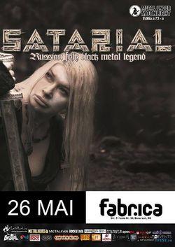 Satarial - cea mai controversata formatie de black metal din Rusia, in concert la Bucuresti