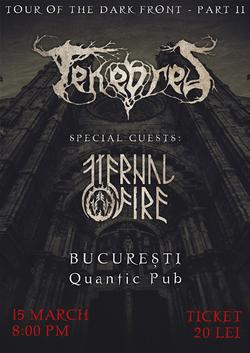 Tenebres concerteaza in Quantic Club alaturi de Eternal Fire cu ocazia lansarii albumului de debut