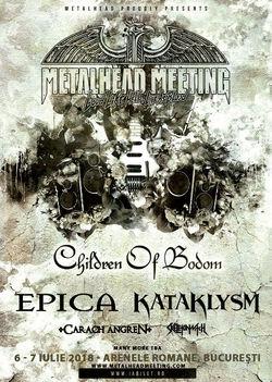 Metalhead Meeting 2018: 6 si 7 Iulie la Arenele Romane din Bucuresti