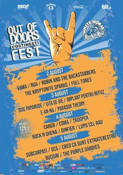 Vita de Vie, IPR, Cargo, Rock n Ghena si multi altii la Out Of Doors Fest din Costinesti