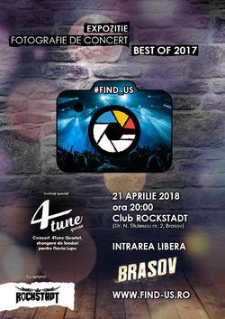 Expozitie caritabila organizata de #FIND_US si sustinuta de clubul 'Rockstadt' din Brasov