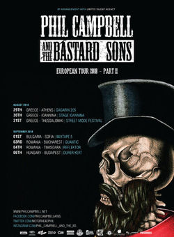 Phil Campbell and the Bastard Sons Concert