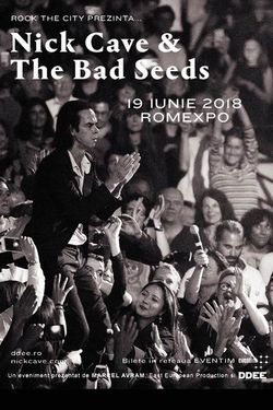 Nick Cave & The Bad Seeds concerteaza pentru prima oara in Romania