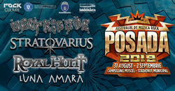 Posada Rock 2018 intre 31 august si 2 septembrie