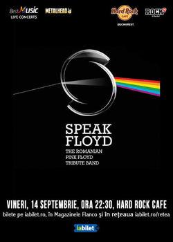 Tribut Pink Floyd - Speak Floyd in Hard Rock Cafe!