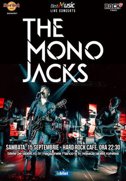 The Mono Jacks in Hard Rock Cafe!