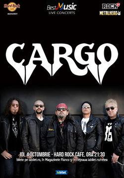 Cargo in Hard Rock Cafe!