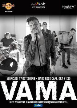 Concert Vama in Hard Rock Cafe!