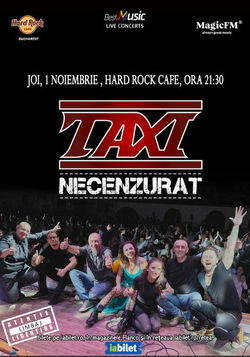 Taxi Necenzurat in Hard Rock Cafe!