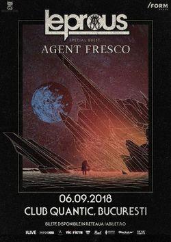 Leprous & Agent Fresco in Quantic pe 6 Septembrie