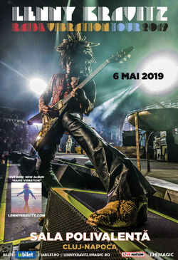 Lenny Kravitz la Cluj-Napoca pe 6 Mai 2019