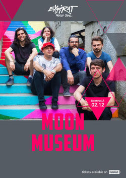 Concert Moon Museum in Club Expirat din Bucuresti pe 2 decembrie