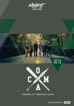 Concert Coma-Lansare Videoclip Icar in Club Expirat Bucuresti pe 5 decembrie