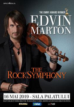 Edvin Marton: The RockSymphony pe 16 Mai la Sala Palatului