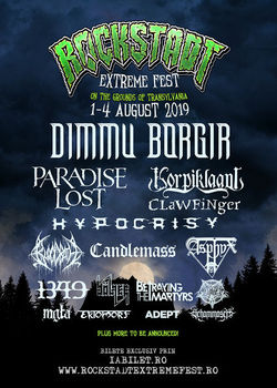 Rockstadt Extreme Fest 2019 in perioada 1-4 August