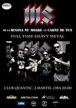 Concert M.S. in Quantic pe 2 Martie