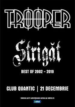Trooper lanseaza 'Strigat: Best of 2002 - 2019' pe 21 Decembrie in Quantic