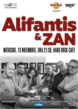 Nicu Alifantis canta pe 13 noiembrie la Hard Rock Caffe