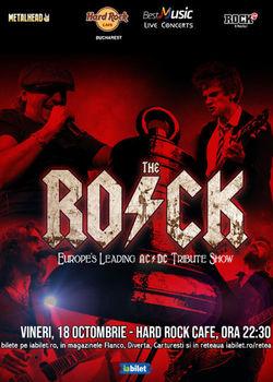 Concert Tribut Ac/Dc cu The Rock la Hard Rock Caffe