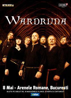 Wardruna canta pe 8 mai 2020 la Arenele Romane