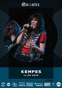 Kempes canta pe 14 septembrie in Club Quantic