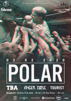 Polar canta pe 2 februarie in Club Fabrica