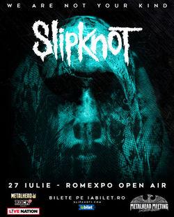 Slipknot la Metalhead Meeting 2020 pe 27 Iulie la Romexpo