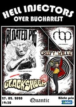 Hell Injectors over Bucharest in Club Quantic