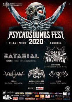 Psychosounds Fest 2020 in Club Fabrica