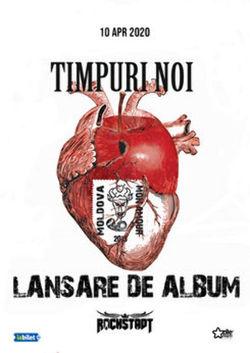 Brasov: TIMPURI NOI  lansare album Moldova Mon Amour