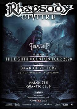 Concert Rhapsody Of Fire pe 7 martie