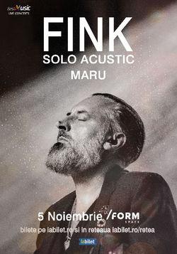 Cluj-Napoca: FINK canta la  /FORM Space pe 5 Noiembrie