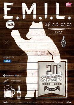 Concert E.M.I.L. - 20 de ani pe 29 mai